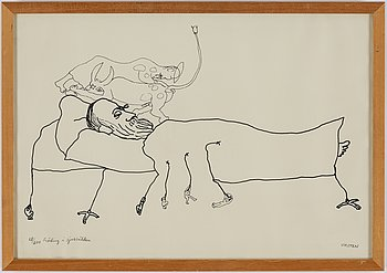 Hans Viksten, seven lithographs, signed and numbered.
