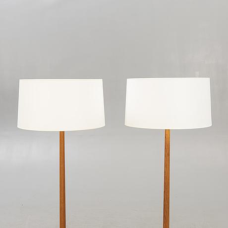 Floor lamps, a pair, stilarmatur tranås, 1960s.