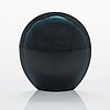 Timo sarpaneva, a '3592 black lancet' glass sculpture signed timo sarpaneva -58.