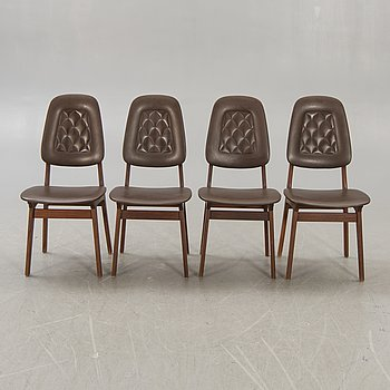 Chairs, 4 pcs, Norway, 1960s.