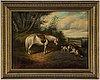 English school, 19th century, oil on canvas.