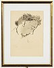 Ragnar sandberg, an ink drawing, signed and dated -44.