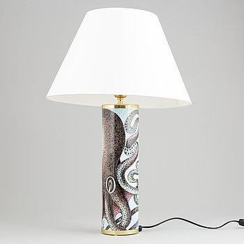 Piero Fornasetti, a table lamp, Milan, Italy.