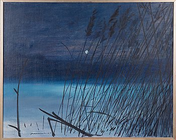 Jaakko Manninen, oil on canvas, signed and dated -69.