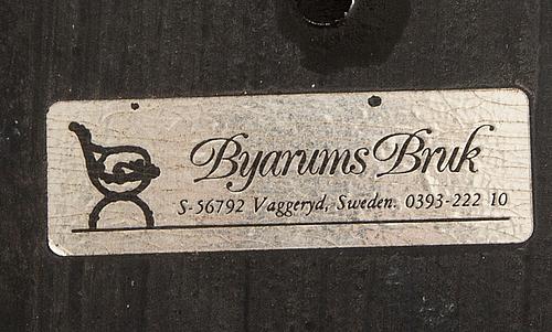 Trädgårdsstolar. 9 st. classic no.1  byarums bruk 2000-tal.