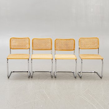 Chairs, 4 pcs, Italy, 1980s.