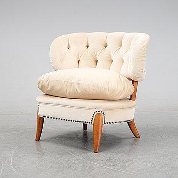 A 'Schulz' easy chair by Otto Schulz, Jio Möbler, Jönköping, mid 20th century.