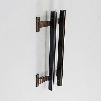 Aarne Olavi (Olli) Kuusi, a pair of '205' door handles, latter half of 20th century.