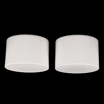 Paavo Tynell, two 1930's '2028' ceiling lamps for Taito.