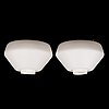 Lisa johansson-pape, a pair of 1960's '71-164' ceiling lights for stockmann orno.