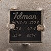 Paavo tynell, a pair of mid-20th century 80113(80112-15) for idman.