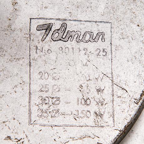 Paavo tynell, kattovalaisinpari, 80112 (80112-25) idman 1900-luvun puoliväli.