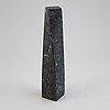 Pål svensson, skulptur, sten, signerad 15/30 samt etsning signerad 15/30.