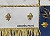"""Hermès, scarf, """"vue du carosse de la galere la reale""""."""