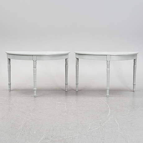 A 19th century dining table.