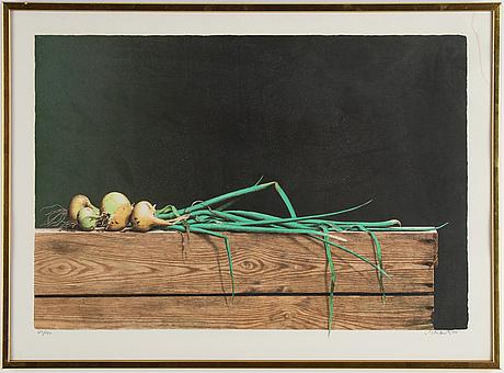 Philip von schantz, lithograph in colours, 1980, signed 129/190.