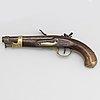 A french flintlock pistol model an ix.