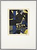 Maurice estève, litpgraph in colours, signed and numbered 41/80.