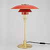A brass 'ph 3/2 table light by poul henningsen for louis poulsen, end of the 20th century.