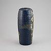 Lisa larson, a stoneware vase for gustavsbergs studio.