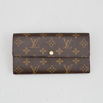 Louis Vuitton, a monogram canvas 'Sarah' wallet, 2012.