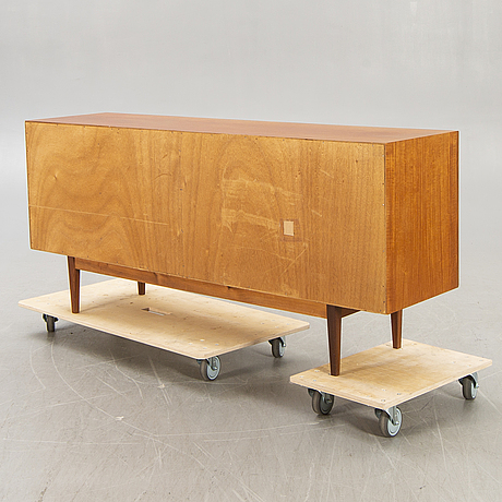A 1960s teak sideboard.