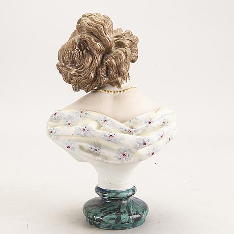 Figurin  möjligen frankrike, 1800-talets senare del porslin.