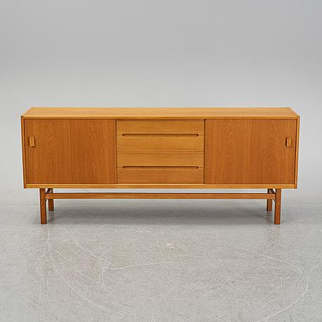 Nils johnson, an oak veneered 'arild' sideboard, 1960's.