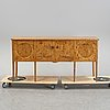 A birch sideboard, 1930-tal.
