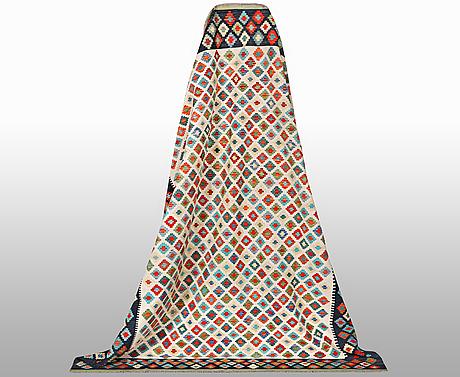 A carpet, kilim, ca 288 x 211 cm.