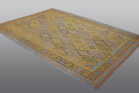 A carpet, kilim, ca 291 x 205 cm.