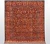 A carpet, ziegler design, ca 295 x 256 cm.