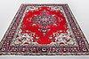 A carpet, tabriz, ca 304 x 200 cm.