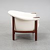A lounge chair by johannes andersen for trensum, 1960's.
