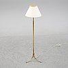 Josef frank, a model 2326 brass floor light, firma svenskt tenn.