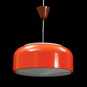A 'Knubbling' ceiling lamp designed by Anders Pehrson, Ateljé Lyktan, Åhus, 1970's.