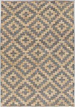 A carpet, flat weave, ca 270 x 180 cm.