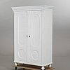 A painted early 1900s wardrobe.