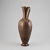Gunnar nylund, a stoneware vase, rörstrand.