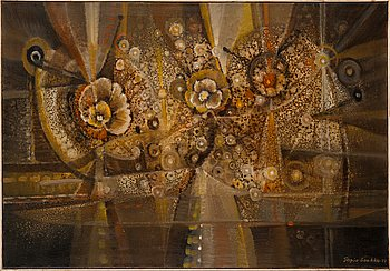 Tapio Soukka, oil on canvas, signed and dated -77.