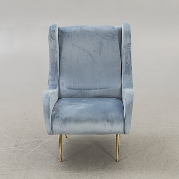 A possibly Italian armchair second half of the 20th century.