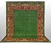 A carpet, semi-antique ushak, possibly, ca 450 x 327 cm.