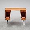 A teak veneered 'marlene' writing desk, designed 1959.