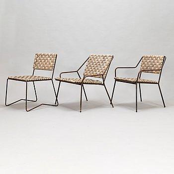 Esko Pajamies, a pair of armchairs and a chair for Sokeva, Ka-Re.