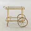 A later part of the 20th century serving trolley.