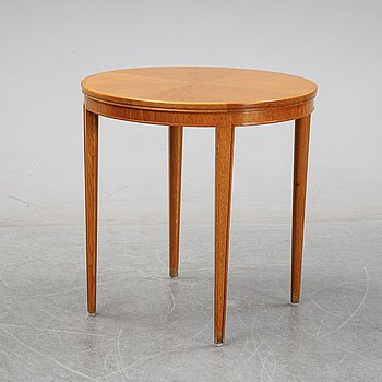 A Swedish Modern oak side table, 1940's.