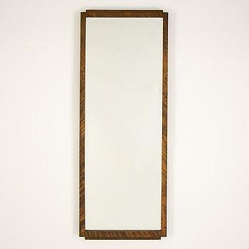 A 1930's stainde birch mirror.