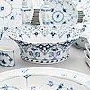 """A 93-piece """"musselmalet"""" dinnerware set, royal copenhagen, denmark ca. 1958-66."""
