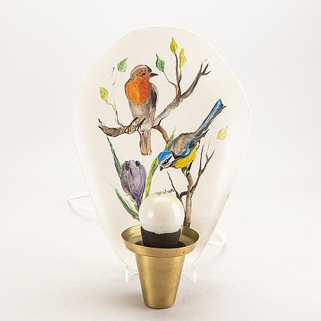 Vägglampett ateljé lyktan åhus 1900-talets mitt.