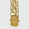 Bracelet 18k gold, 23,8 g, approx 21 x 1 cm.